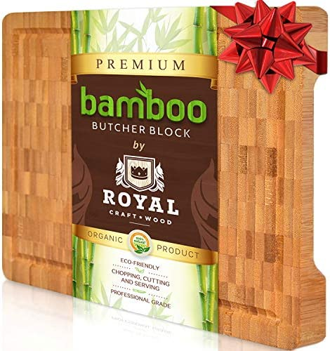 Bamboo Wood Cutting Kitchen Butcher product image