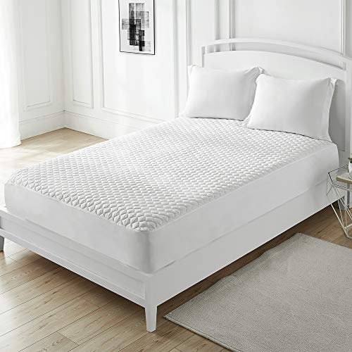 Byourbed 100% Cotton-Top Mattress Pad - Queen