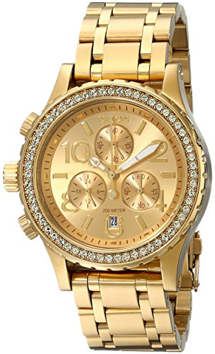 Nixon Women s 38-20 Crystal Chrono Watch