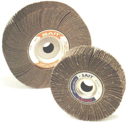 100X 5-Pack 6 x 1 x 1 United Abrasives-SAIT 72007 3A Flap Wheel