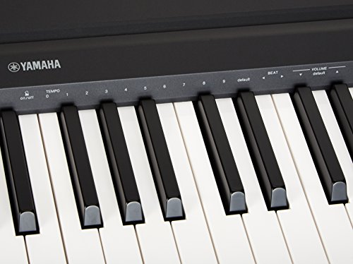 yamaha p71 88 key weighted action digital piano with