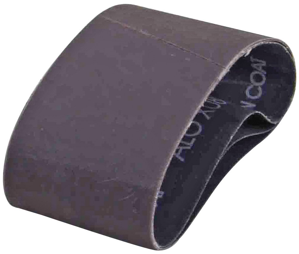 A&H Abrasives 148400, 25-pack, Sanding Belts, Aluminum Oxide, (x-weight), 2-1/2x14 Aluminum Oxide 80 Grit Sander Belt