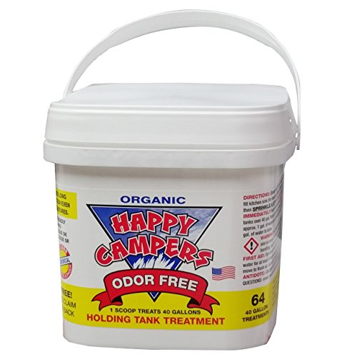 Tank Deodorizer (Happy Campers Organic RV Holding Tank Treatment - 64 treatments)