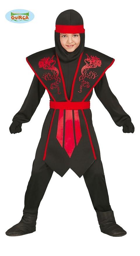 6 Rosso Maschere Colore Nero Shadow Ninja Abiti Anni Vestito 5 E zqAfYf