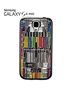 Test Pattern Hand Drawing Vintage Cell Phone Case Samsung Galaxy S4 Mini White