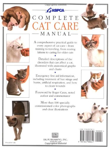 Complete Cat Care Manual: The Ultimate Illustrated Guide to Caring for Your Cat by DK ADULT (Image #1)