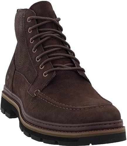 Guardería Desaparecido Prueba de Derbeville  Amazon.com: Timberland Port Union Waterproof Moc Toe Boot: Shoes