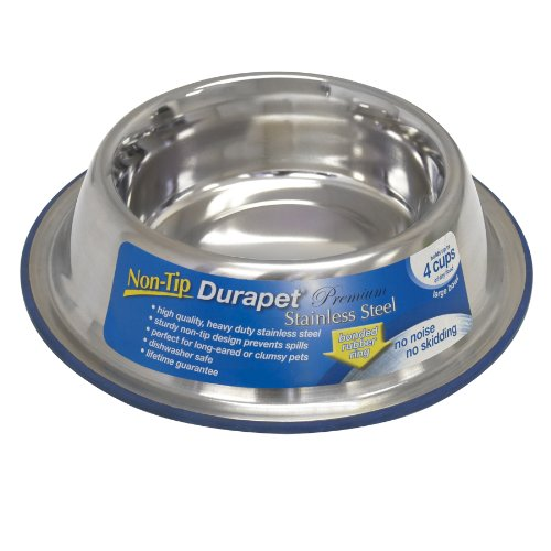 (OurPets Durapet Non-Tip Bowl, Large)