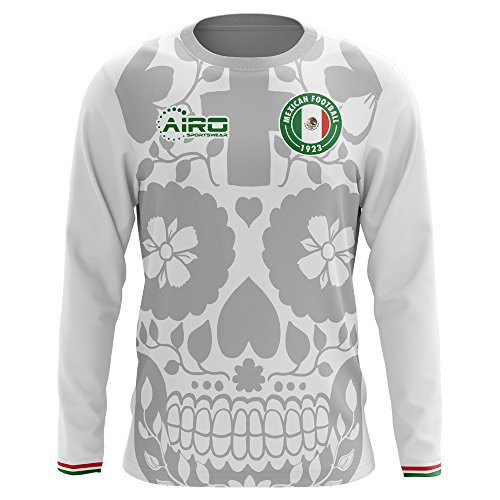 Airo Sportswear 2018-2019 Mexico Long Sleeve Away Concept Football Soccer T-Shirt Jersey