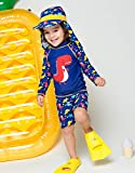 VAENAIT BABY Kids Boys Rashguard Swimsuit Long