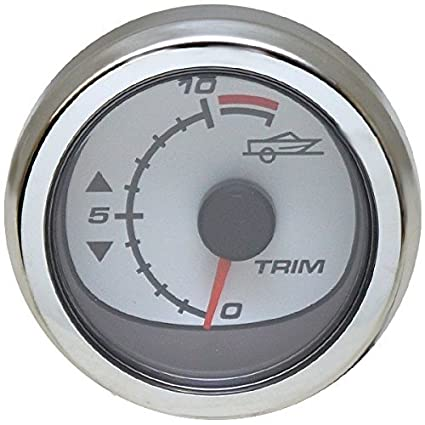 Amazon com: Lund Mercury Smartcraft Boat Trim Gauge 79