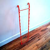 New Retail Hanging Clipper Grid Panel Rack Store Display Fixture Red