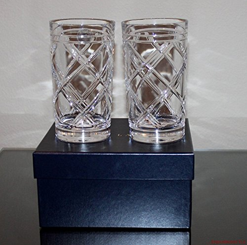 Ralph Lauren Brogan Classic Highball Glasses, Set of 2 ()