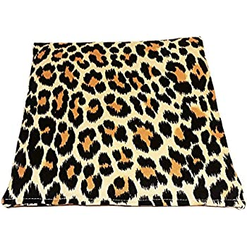 Heating Pad Corn Filled. Natural Heat Therapy for Lower Back, Neck, Shoulders, Cramps. Pain and Stress Relief Heated Wrap. (Jungle)