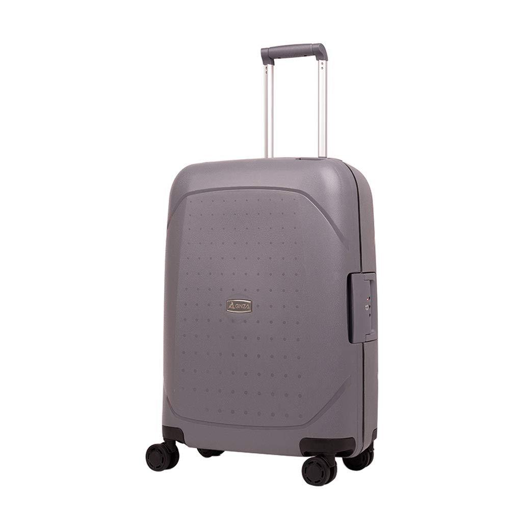 超軽量のハードシェルは4つの車輪が付いているスーツケースの荷物、ハードシェルの小屋手の荷物のスーツケース、オレンジを続けていきます 38*20*56cm  B07MW6L1G4