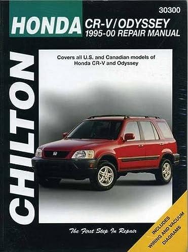 honda crv and odyssey 1995 00 chilton total car care series rh amazon com 1995 honda odyssey manual transmission honda odyssey 1995 manual download