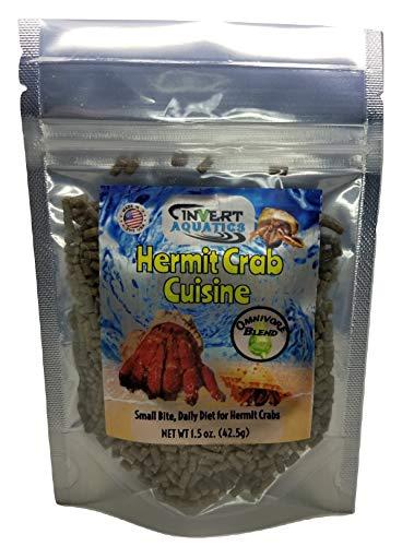 Invert Aquatics Hermit Crab Cuisine - Omnivore Blend Hermit Crab Dry Food (1.5 oz (42.5g))