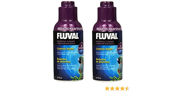 Amazon.com : Fluval Biological Cleaner for Aquariums 8.4oz (2 Pack) : Pet Supplies