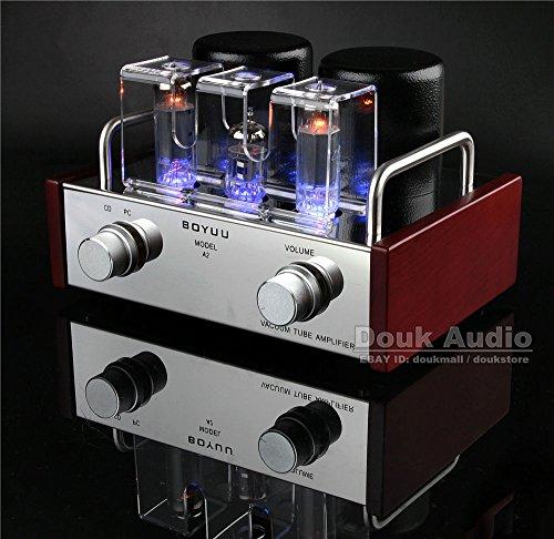 Douk Audio Mini Single-ended 6P14&EL84 Vacuum Tube Amplifier HiFi Integrated Amp