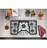 "Appliances : GE Cafe CGP650SETSS 36"" Built-In Gas Cooktop"