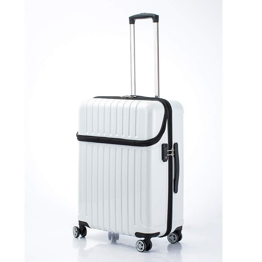 アクタス トップオープン ジッパーハード 59L スーツケース 74-20329 ホワイトカーボン 【代引き不可】[bg]   B07KHXJGQS