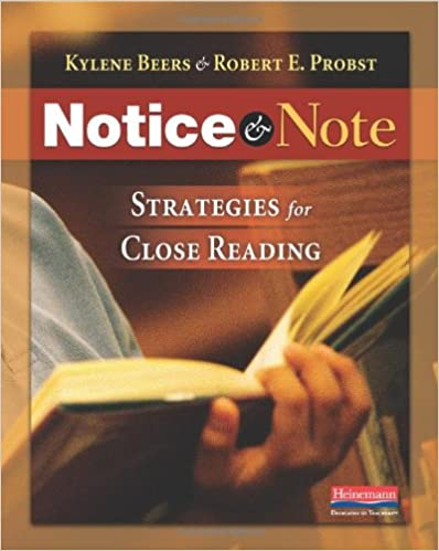 Notice and Note by Beers and Probst: This blog post contains free supplemental materials to accompany these strategies!
