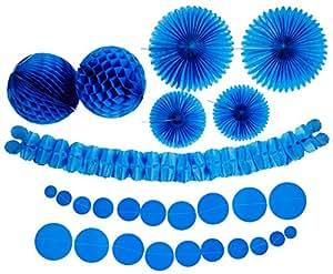 DesignWare Paper Decorating Kits, Blue