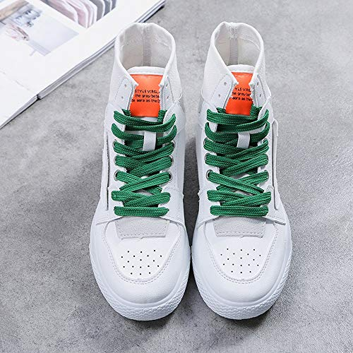 Schuhe Sport Sports Flut High Fuß Grün Schuhe Hundert Schuhe Mädchen Weiße LIANGXIE Frauen Kleine 2018 Hip Hop Street Schuhe Nachrichten Frauen Dance Segel tSqxaw5n