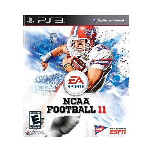 New Electronic Arts Ncaa Football 11 Sports Game Concurrent Product Standard 1 User Retail Ps 3