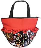 10 Pocket Vegas Jackpot Orange Zipper Bingo Bag