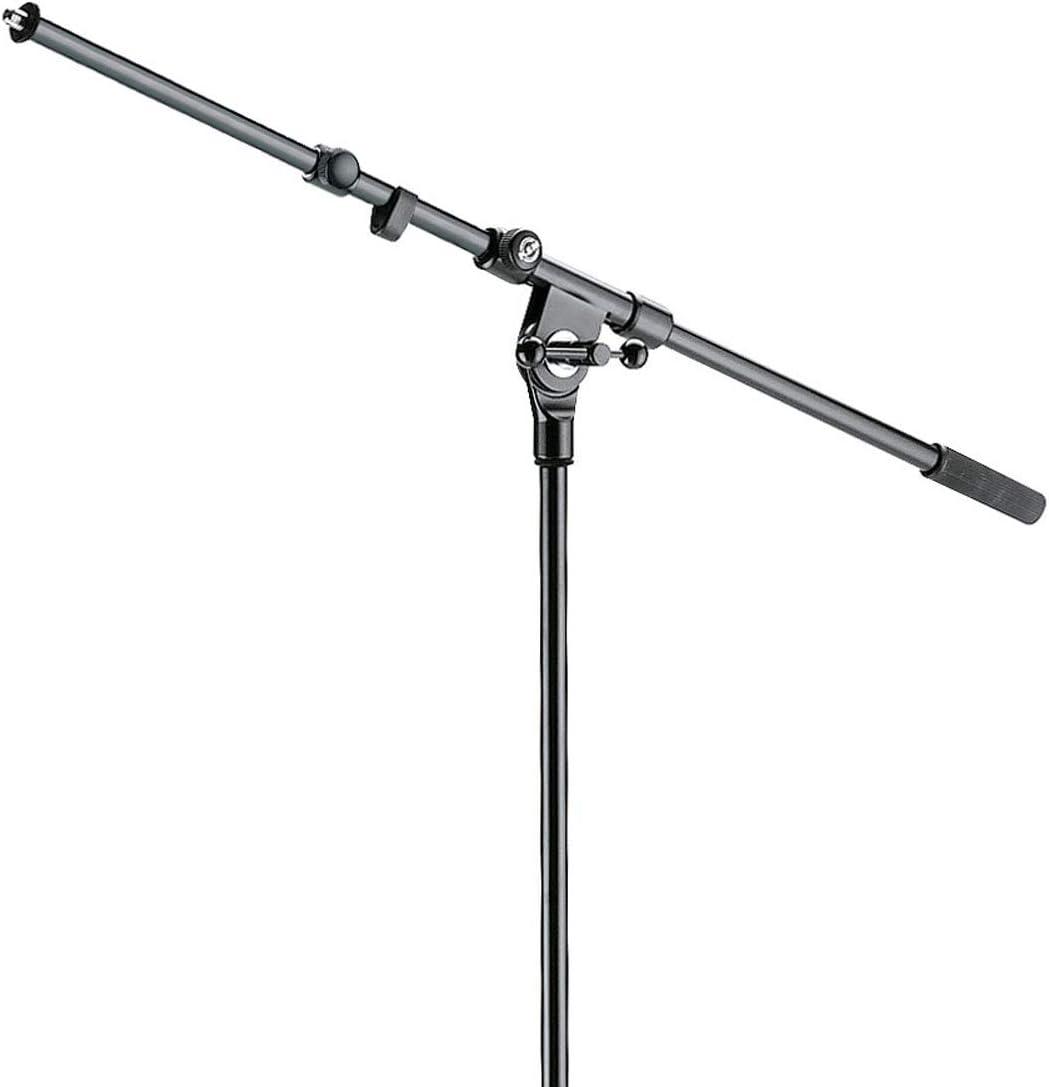 K/&M 210//9 Mikrofonstativ mit Galgen keepdrum Stereo-Schiene Doppel-Halterung