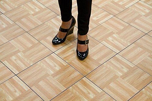 SnapLock X Portable Dance Floor In Oak Perfect For Tap - Snap lock dance floor for sale