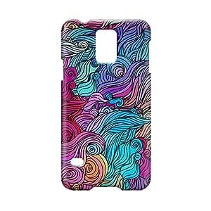 Hairs Samsung S5 3D wrap around Case - Design 11