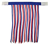 Derby Originals Patriotic Horse Fly Veils/Fringes, Red/White/Blue, Full
