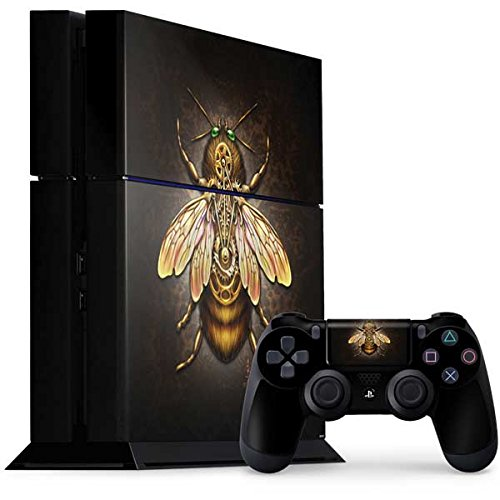 Fantasy & Dragons PS4 Console and Controller Bundle Skin – Steampunk Bee | Skinit Art Skin