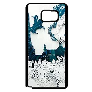 Samsung Galaxy Note 5 Phone Case Paper Cut Back Cover Case Protective Design for Samsung Galaxy Note 5 Mobile Shell