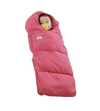 Tossi Sacos De Dormir para Bebés Invierno Envolver Recién Nacido Sopa De Dormir Manta De Bebé Envuelta con Un Chip De Temperatura Inteligente,Red: ...