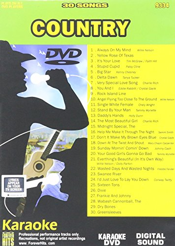 Hits Forever Karaoke - Forever Hits Karaoke 9334 Country 30 Songs [DVD]