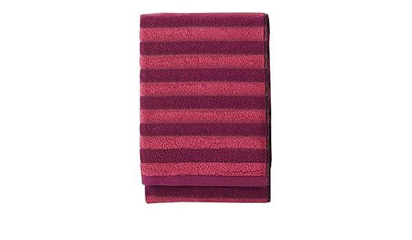 algod/ón Finlayson reiluraita Toalla de ba/ño 70/x 150/cm Color Rojo//Blanco