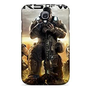 Top Quality Case Cover For Galaxy S4 Case With Nice 2011 Gears Of War 3 Appearance