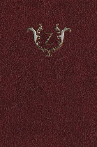 Download Monogram Z Grid Notebook (Monogram Red 150 Grid) (Volume 26) pdf