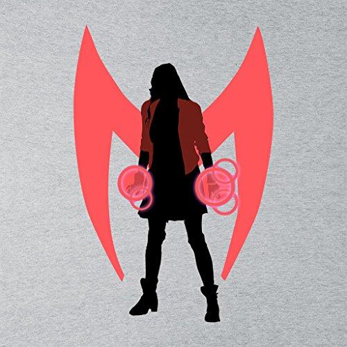 Cloud City 7 Scarlet Witch Power Symbol Avengers Womens Vest