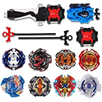 infinitoo Beyblade, Battle Burst, Combat Spinning Top Burst | 8 pcs speed gyro metal combat spinning top set 4D Fusion…