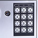 Fireproof Home Digital Security Safe Box Wall with