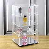 Mooca Rotating Acrylic Lockable Showcase Display