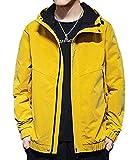 Mikino ジャケット メンズ コート メンズ 秋冬 ブルゾン 防寒 コート カジュアル おしゃれ ゆったり フード付き 大きいサイズ