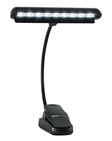 Gator Cases GFW MUS LED Frameworks Clip On LED Music Lamp With Adjustable