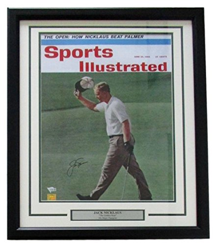 Jack Nicklaus Signed Framed Sports Illustrated June 1962 16x20 Photo Fanatics - Fanatics Authentic Certified