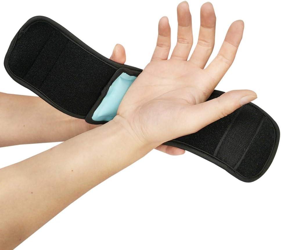 Luckine Sportiva SUI piedi del braccio da polso Cold Hot Wrap Pack di Gel staccabile traspirante multifunzionale Sicurezza: Amazon.es: Deportes y aire libre