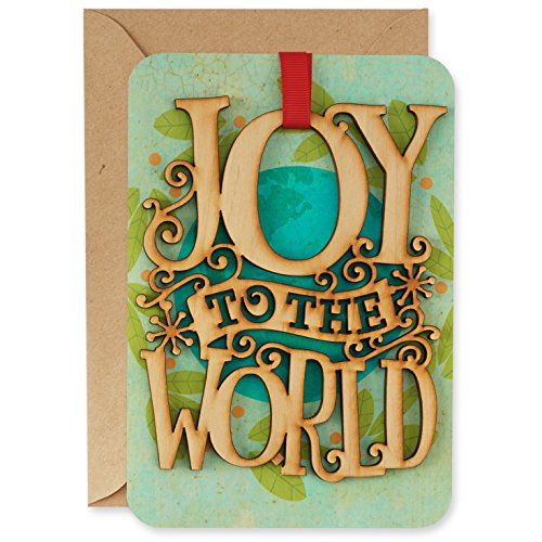 Hallmark Signature Collection Holiday Card: Christmas Around The World Removable Ornament